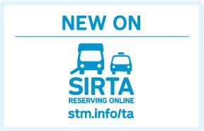 SIRTA - Reserving online